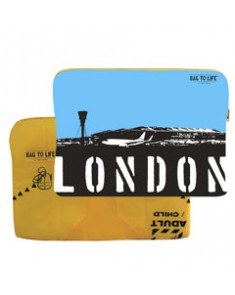 London laptop sleeve Bag to Life