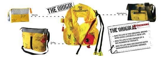 Bag to Life upcycling proces